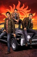 Supernatural by Anthony Spay by StephenSchaffer