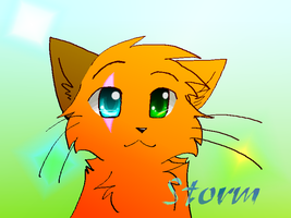 .:Happy Birthday Storm:. by Spottedfire-cat