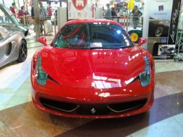 Ferrari 458 Italia front view by Rooivalk1