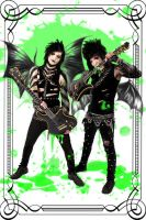jinxx and Jake Pitts by Figure-of-L