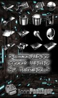 THEME ICONPACKAGER ALIEN BREED WHITE By TUTOHELP by TUTOHELP