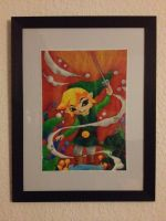 Windwaker link painting by Teris-DA