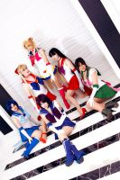 Sailor Moon Group by Shiya