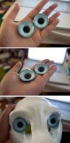 FOR SALE: Hand painted glass eyes by yeep-yeep