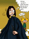 Snape in HA world for Helindir by Rei-Hikaru