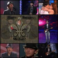 Michael Grimm Bday Collage by celticpath