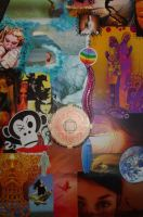Surf Collage Detail 2a by ChaoticatCreations
