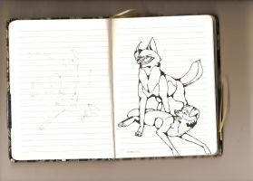 America and England dogs by Semargl-Wolf
