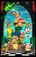 The Koopalings -Koopa Kids by whittingtonrhett