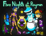 Five nights at Rayman by ZzRaymanSniperzZ