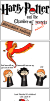 HP and the chamber of Moltres by TheSmilingFish