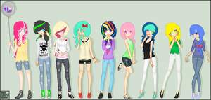 Pony Girls 1 by Narwhals-are-beast