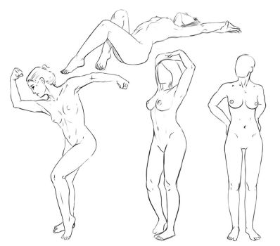 studies with photo references by sofmer