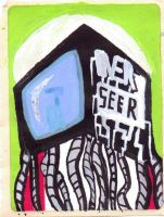 Jet set radio con entry:overseer sticker by Overseer101