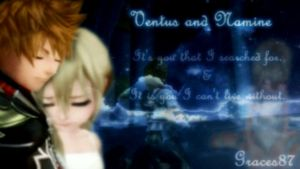 Ventus and Namine its you by Graces87