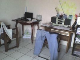 my work space by 15DEATH