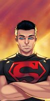 Superboy of Smallville by Igloinor