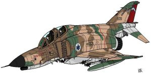 IDF_F4_Phantoms by darthpandanl