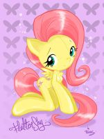 Fluttershy manga by favius by favius