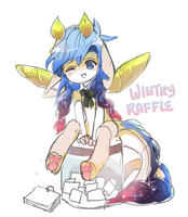 wintry raffles by rainue