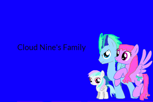 Cloud Nine's family by CloudNineArts