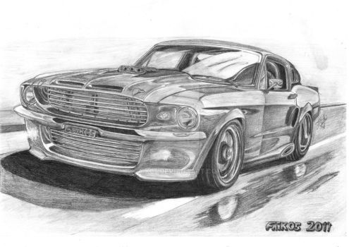 Ford Mustang Shelby GT500F by Faik05