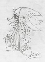 core the hedgehog. part robot by GamistTH
