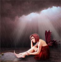 broken-hearted love fairy by theancientsoul