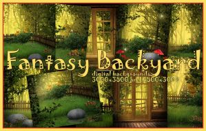 Fantasy Backyard by KlaraKay