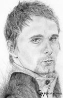 Matthew Bellamy DRAW III by LGhost
