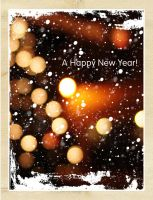 New Year's postcard by norne-nornir
