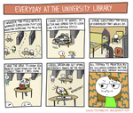 My Love for the Library by tataboxx