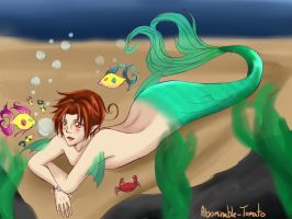 Merman Feliciano by Abominableve