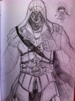 Assassin's Creed study by Namecchan