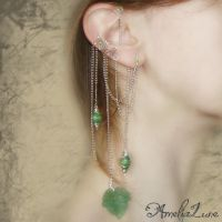 Mother Nature II ear cuff wrap by AmeliaLune