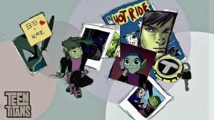 Beast Boy Wallpaper by tiger-Sanga