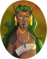 Idelisa, Druid Mage FR by Pippasaurs