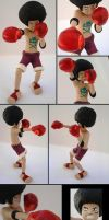 Afro Luffy Figure by tenpieces