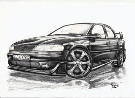 Opel Vectra B by Ragewalker