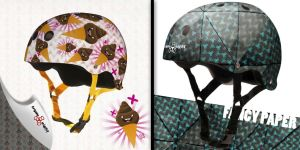 Fancy Paper and IceCream helm by B3Ns