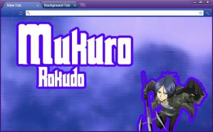 KHR: Mukuro Rokudo Google Chrome Theme by yohohotralala