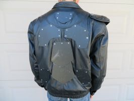 Fallout/ Mad Max style armored jacket by KevlarKatana