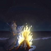 Sing At The Campfire by Darkpaw2001