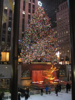 Rockefeller Center by TheArtributor