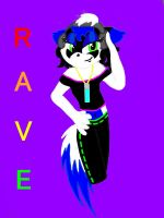 I know this pretty rave girl by hchic4life