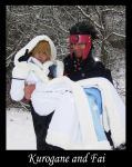 Cosplay - Fai and Kurogane 3 by Malindachan