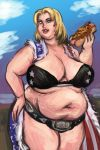 Tubby Champion Tina Armstrong (Censored) by TheAmericanDream