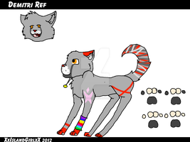Demitri REF by Frozen-Icicles