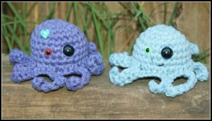 Kawaii Octopus by oywiththeplushies
