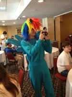 My daughter at Silly Filly Con by WhiteDove-Creations